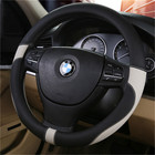 New High Micro Fiber Leather Car Steering Wheels Covers 38CM/15'' Steering Wheel Hubs Car Styling,Steering-wheel Free Shipping