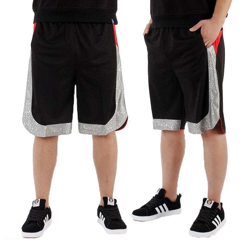 New Basketball Shorts Men Sports Running Shorts Outdoor Breathable Quick-dry Thin Shorts Fitness Loose Training Shorts
