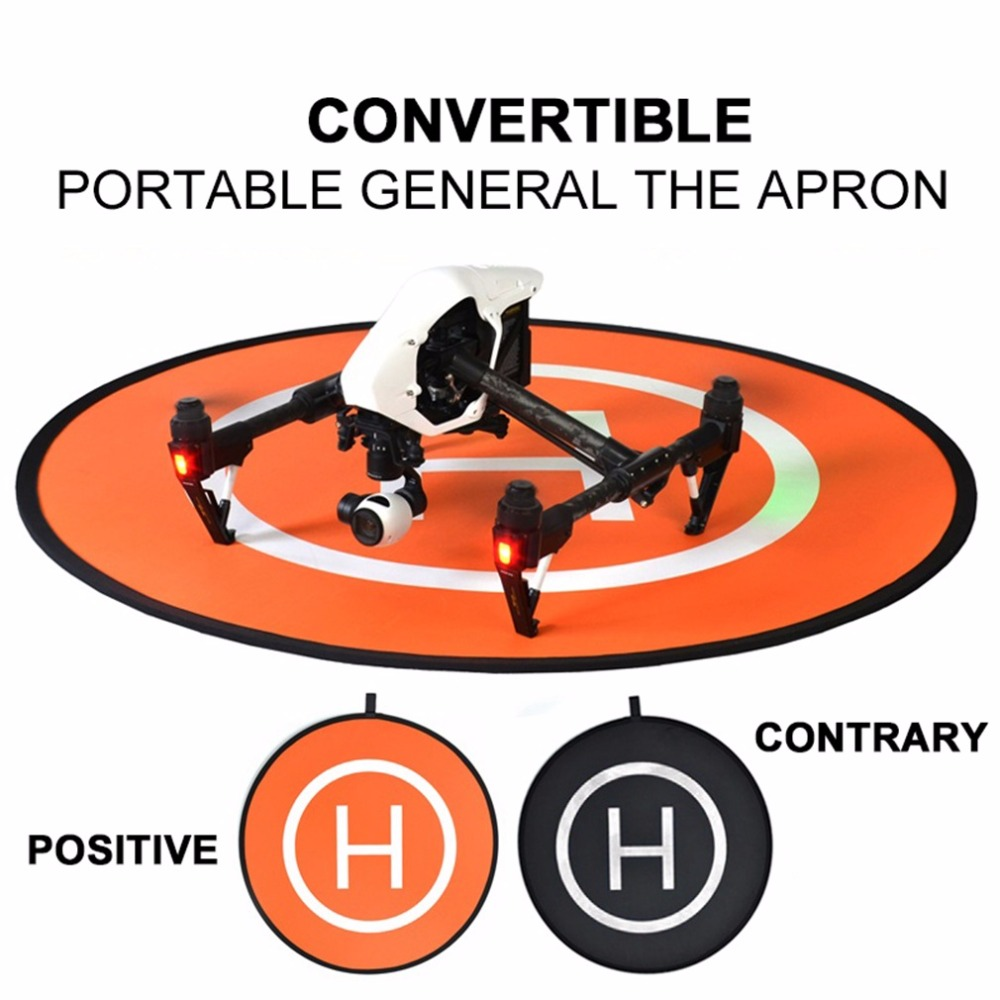 75*75cm Portable Practical Parking Apron RC Drone Quadcopter Fast-fold Landing Pad Parking Apron For DJI
