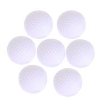 White Round Practice Golf Balls Plastic 12 Pieces