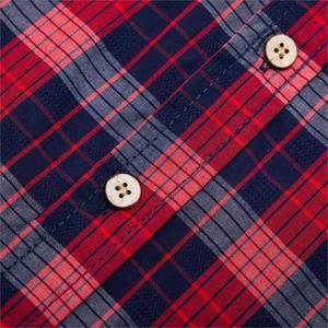Image 5 - Fredd MARSHALL 2019 ใหม่แฟชั่นลายสก๊อตชายเสื้อลำลองแขนยาวSLIM FITเสื้อกับกระเป๋าผ้าฝ้าย 100% คุณภาพสูง 198
