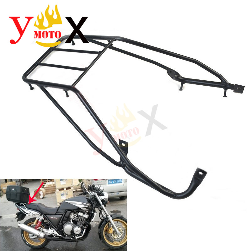 CB400 92 98 Motorcycle Tail Luggage Rack Rear Cargo Support Bracket For Honda Super Four 1992
