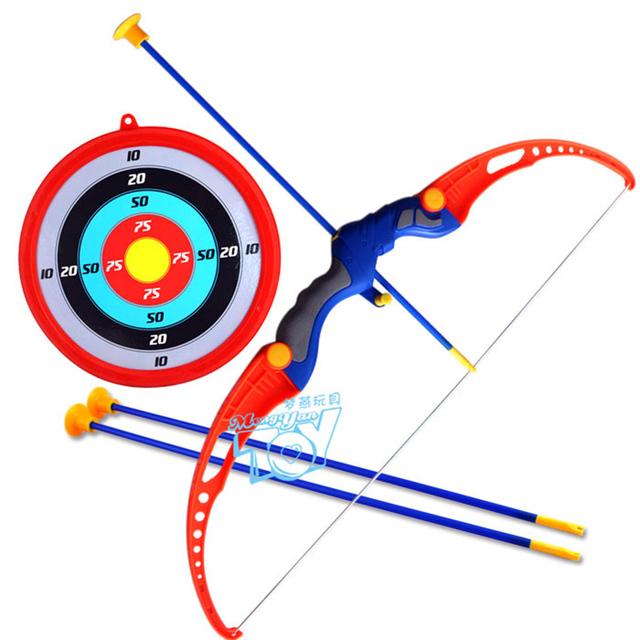 2016 brinquedo da espada de plástico para fora da porta brinquedos O brinquedo esportes pai-filho arco atirador combinação com seta espada de plástico espada de