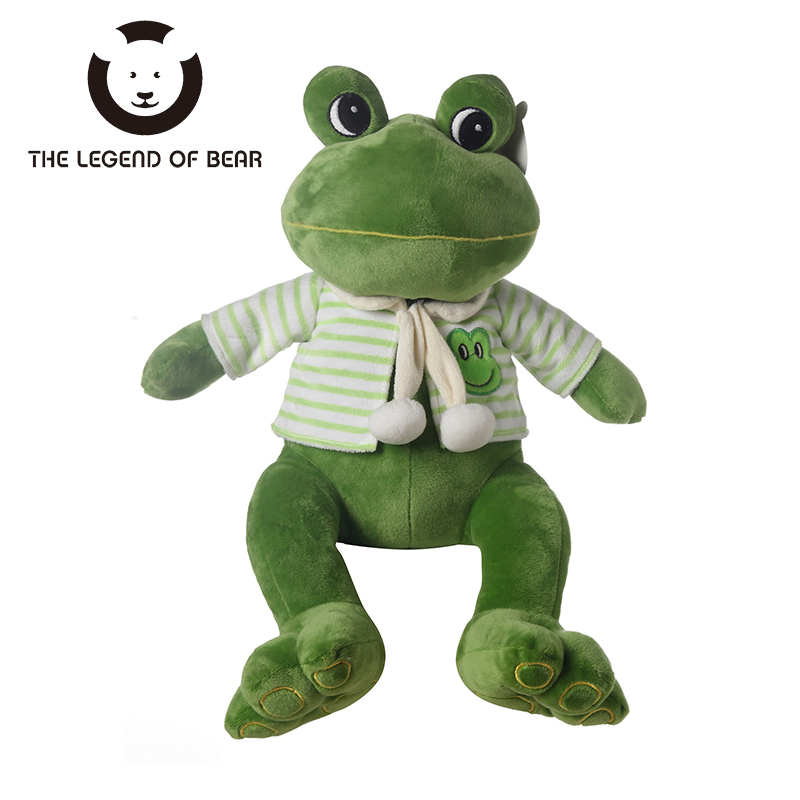 2017 Hot Kids Plush Stuffed Animals Toy THE LEGEND OF BEAR Brand Frog Toys Tiny Soft Dolls For Girls Gifts For Children Anime TY fancytrader biggest in the world pluch bear toys real jumbo 134 340cm huge giant plush stuffed bear 2 sizes ft90451