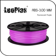 Worldwide Fast Delivery Manufacturer 3D Printer Material 1 kg 2.2 lb 3mm Fluorescent Purple ABS Filament