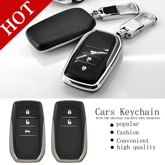Free Shipping Key set of car keys package protection shell key chain For camry RAV4 corolla MARK PRADO