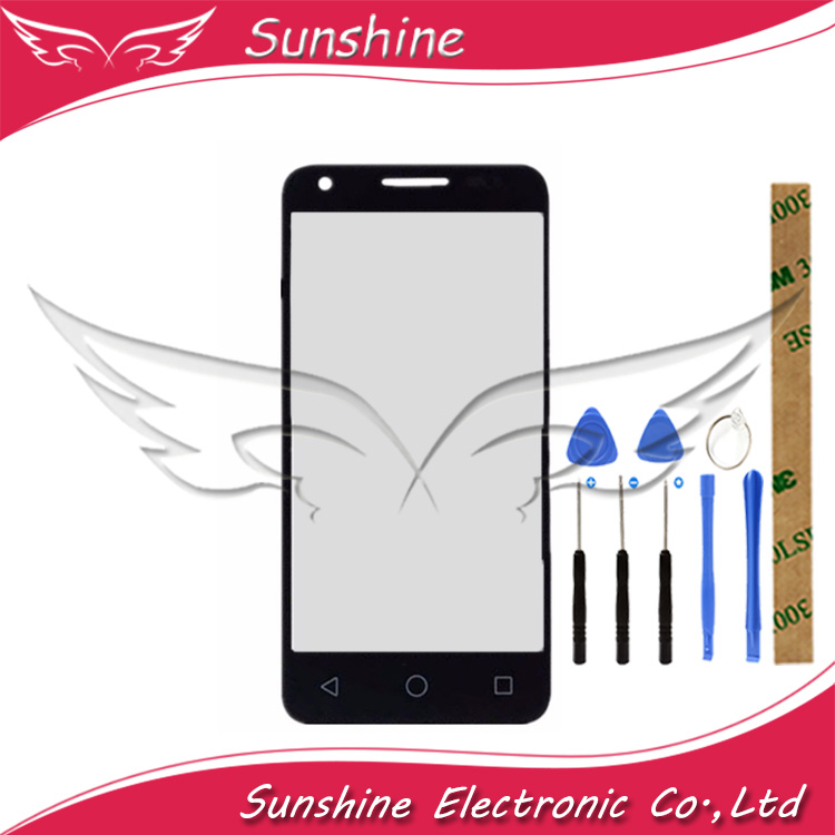 100% Tested For Alcatel One Touch Pixi 3 4.5 <font><b>4027D</b></font> 4027X 4027 A5017 With Touch Screen Front Glass Digitizer image