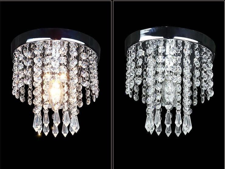 Plafoniere Economici : Acquista plafoniere interne crystal lighting luminaria abajur