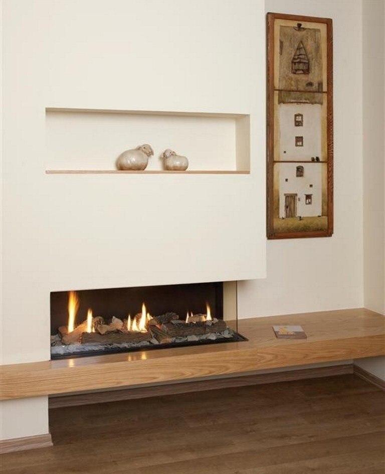 On Sale 60'' Smart Home Fireplace With Bioethanol Burner  16L