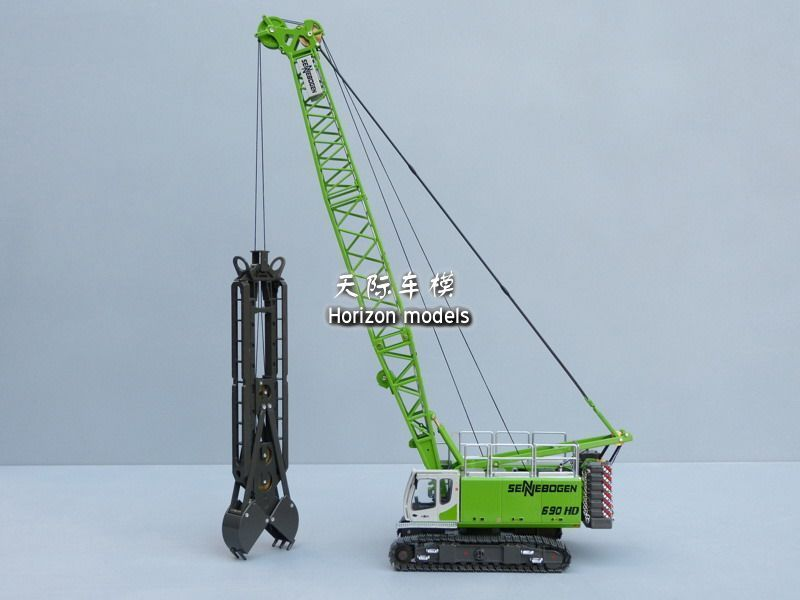ROS 690HD Sennebogen crawler crane diecast model (L)