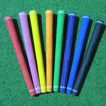 10 pcs per lot assort color blank logo children rubber kid golf grip