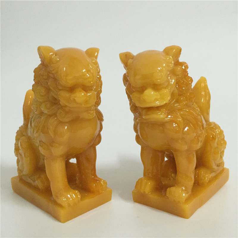 2 Pcs Chinese Lions Statues Man-made Jade Stone Animals Garden Sculpture Lion Figurines Statue For Home Decoration Feng Shui2 Pcs Chinese Lions Statues Man-made Jade Stone Animals Garden Sculpture Lion Figurines Statue For Home Decoration Feng Shui