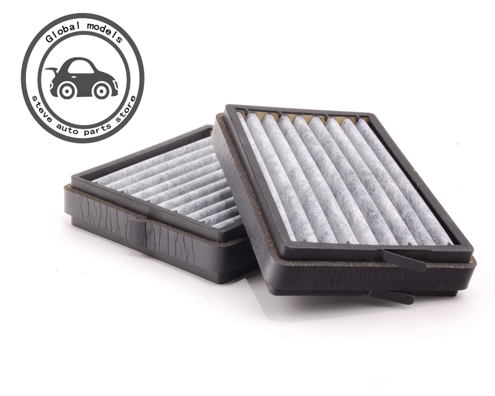 Cabin Air Filter Set For Mercedes Benz W203 C160 C180 C200
