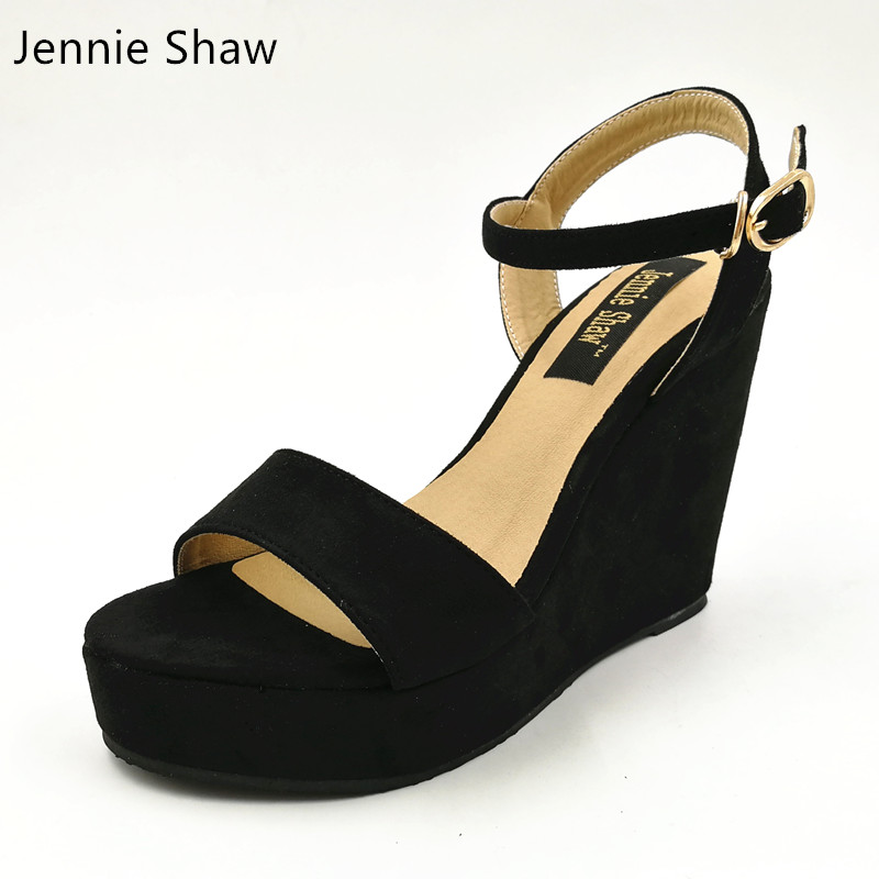Female Summer Bohemia Sandals Wedges High Heeled Shoes Platform Sandals Women Sys 1113