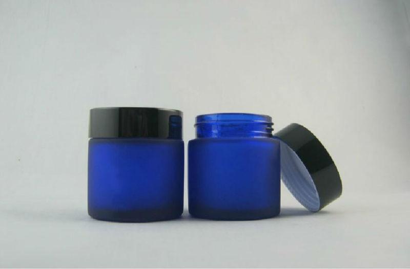 50 50 pcs atacado de alta qualidade g geada azul boiao de creme cosmeticos 50g frasco
