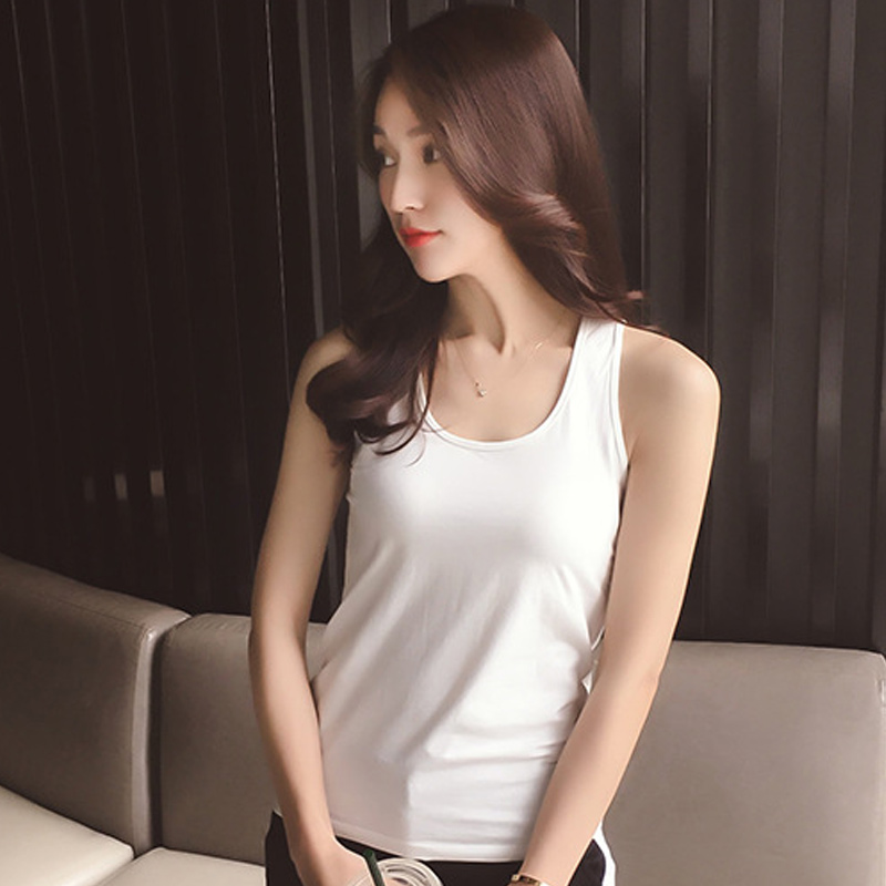 Female Tops Summer Vest Strappy Back Hollow-Out Casual Women Sleeveless HOT 19ING Slim-Fit