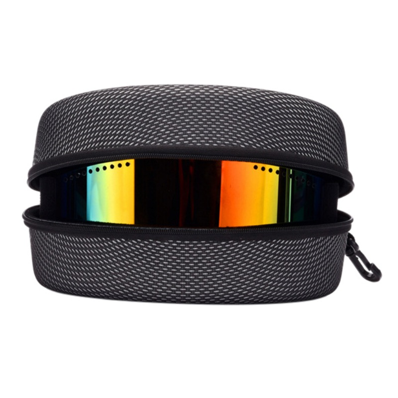 New Protection EVA Snow Ski swim Eyewear Case Snowboard Skiing Goggles Sunglasses Carrying Case Zipper Hard Box Holder