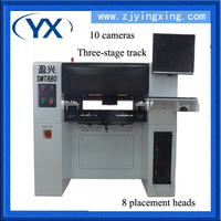 Quality Control Mounter SMT 880 Pick and Place Machine for PCB Board Assembly