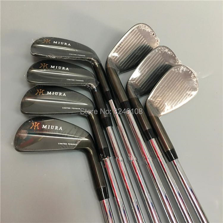 Golf fers MIURA Limitée Forgé Golf head set 4-9 P Fers De Golf Clubs Livraison gratuite