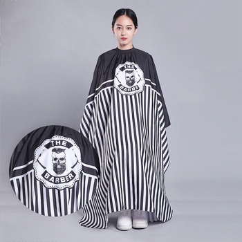 1Pc 160x145cm Hairdresser Capes Salon Barber Cutting Hair Waterproof Cloth Salon Barber Gown Cape Hairdresser Hair Dresser Wra salon professional hair styling cape hair cutting coloring styling cape hairdresser wai cloth barber camouflage embossing capes