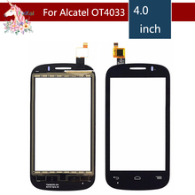 For Alcatel One Touch POP C3 Dual OT-4033E OT4033 4033D 4033X Touch Screen Digitizer Sensor Outer Glass Lens Panel Replacement hot sale 6 styles new brand ski goggles double uv400 anti fog big ski mask glasses skiing men women snow snowboard goggles
