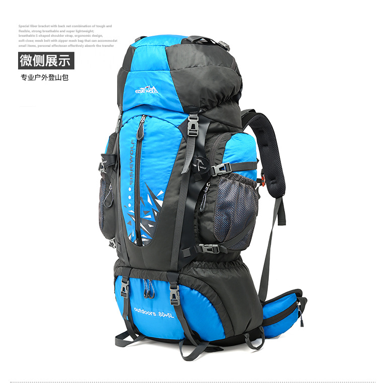 5a8b88ff9b mountaineering backpack 80 l high quality male female mass travel  waterproof rucksack for women and men