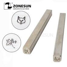 ZONESUN Custom link per Acciaio Inox Metal Stamp Punch Die da Ali di spedizione standard per la Spagna