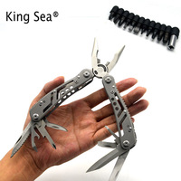 Multifunction Pliers With Screwdriver Kit Pocket Multi Hand Tools Hunting Portable Outdoor Crimping Survival Knife Cutting