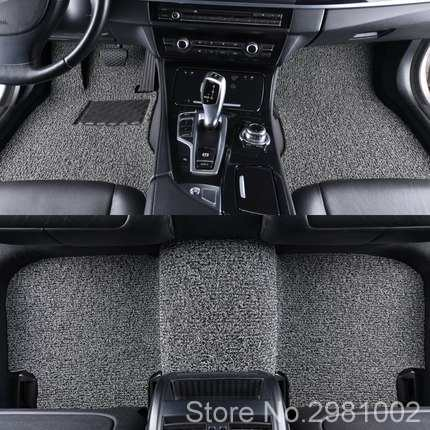 Car Coil Floor Mat Carpet Cargo Pad Decor For BWM Mini Cooper One D Countryman F54 F55 F56 F60 R55 R56 R60 Car Accessories