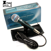 BT58A Professional Cardioid Vocal Dynamic Wired Microphone For Computer Stage Singer BETA 58A BT 58A NO