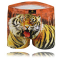 The Younth Man Cool Tiger 3D Printing Pure Cotton Boxers