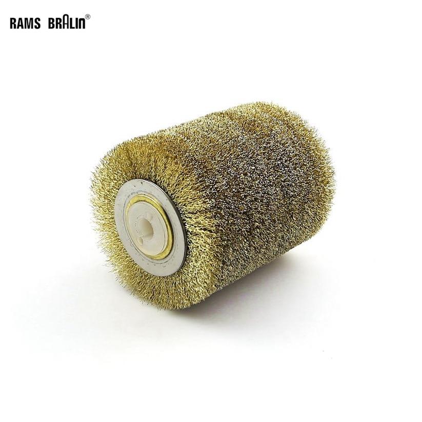 100*120*13 мм Стальная проволока кисти шлифовального круга для 9741 колеса Jil Sander для дерева, металла Краски удаления ржавчины