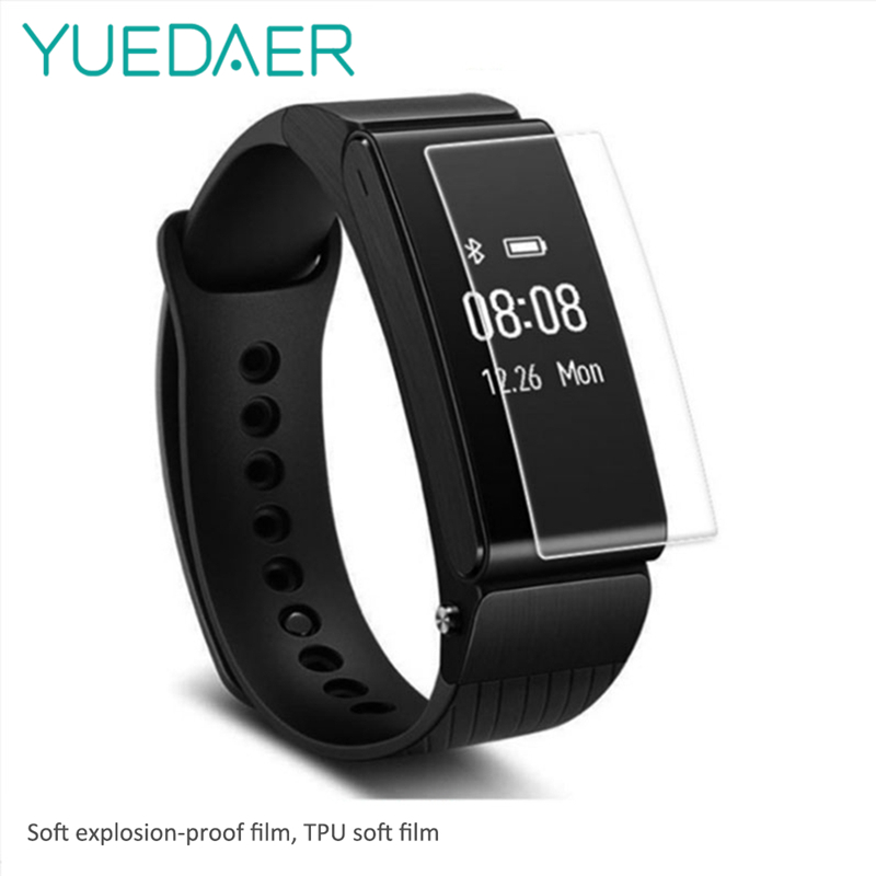 YUEDAER Soft Film For Huawei Honor Band A2 Screen Protector For Honor Color Band A2 Film Scratch Proof Protective Accessories