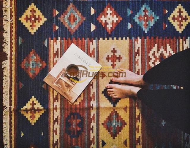 Stile nordico di lana tessuto a mano carpet keeley kilim for Tappeti kilim ikea