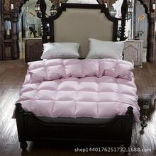 The most warm and comfortable 100% white goose down quilt king queen full twin size Luxurious warm winter comforter