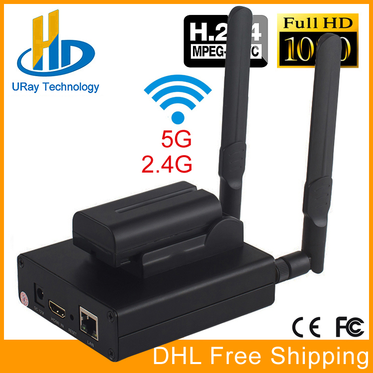 цена DHL Free Shipping MPEG-4 H.264 HD Wireless WiFi HDMI Encoder For IPTV, Live Stream Broadcast, HDMI Video Recording RTMP Server