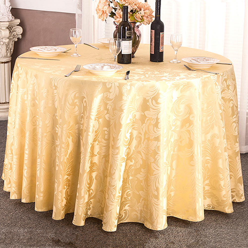 Etonnant SHSEJA Continental Restaurant Round Tablecloth Hotel Tablecloths Family  Banquet Tablecloths New Decorative Tablecloths In Tablecloths From Home U0026  Garden On ...