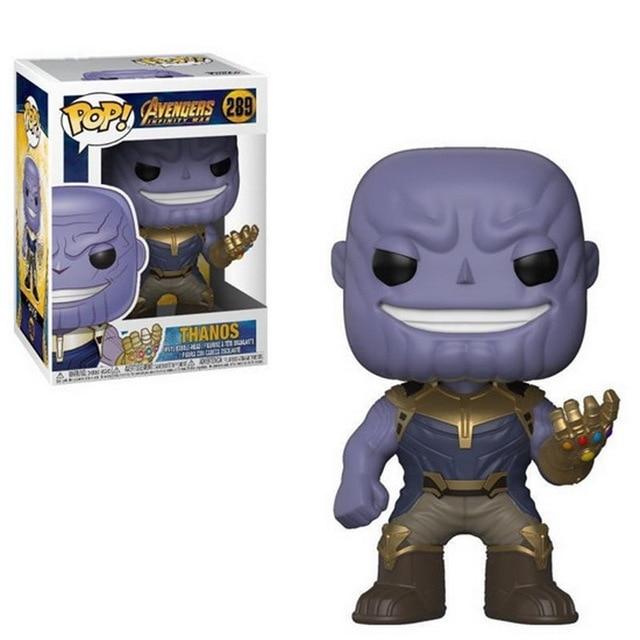2018 Chegada Hot Marvel Avengers Infinito War3 Thanos Figura de Ação de Super-heróis Homem De Ferro Homem Aranha Capitão América Thor Brinquedos Bonecas