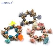 Браслеты из раковин в стиле бохо летние браслеты хлопка с кисточками
