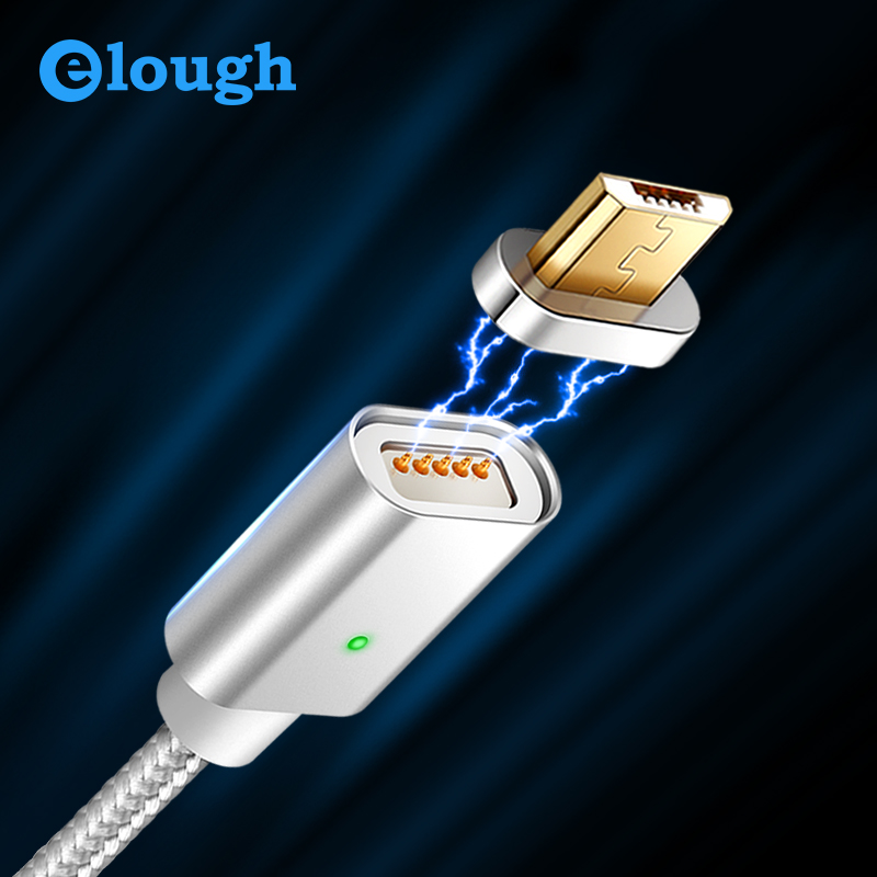Elough E04 Micro USB Magnetic Charging Cable Data Cable For Huawei Android Cable usb Micro Cable Magnet Charge Wire Braided|Mobile Phone Cables| |  - AliExpress