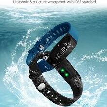 Браслет V07 Smart Band артериального давления для взрослых Водонепроницаемый Bluetooth Шагомер Браслет фитнес-трекер Android для смартфонов