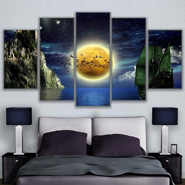 canvas prints paintings wall art frame living room home decor 5