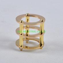 1pc Gold Tube Guard Protector Brass ECC82 ECC83 12AX7 12AT7 6922 6DJ8 Valve DIY Part