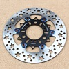 1 PCS Universal Aluminum Alloy Starlike High Cooling Motorcycle Brake Disc Brake Pads 220mm 260mm Motorcycle