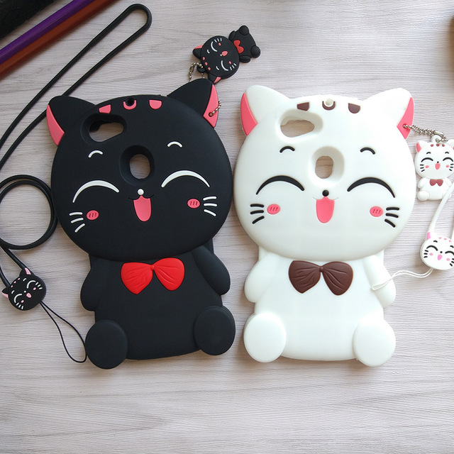 new products bddd4 40821 US $5.76 25% OFF|Cute Cartoon 3D Cat Kitty Phone Case for OPPO F5 Cases  Soft Silicone Rubber Cover Fundas Coque Capa for OPPO F5 / A73 / A79-in  Fitted ...