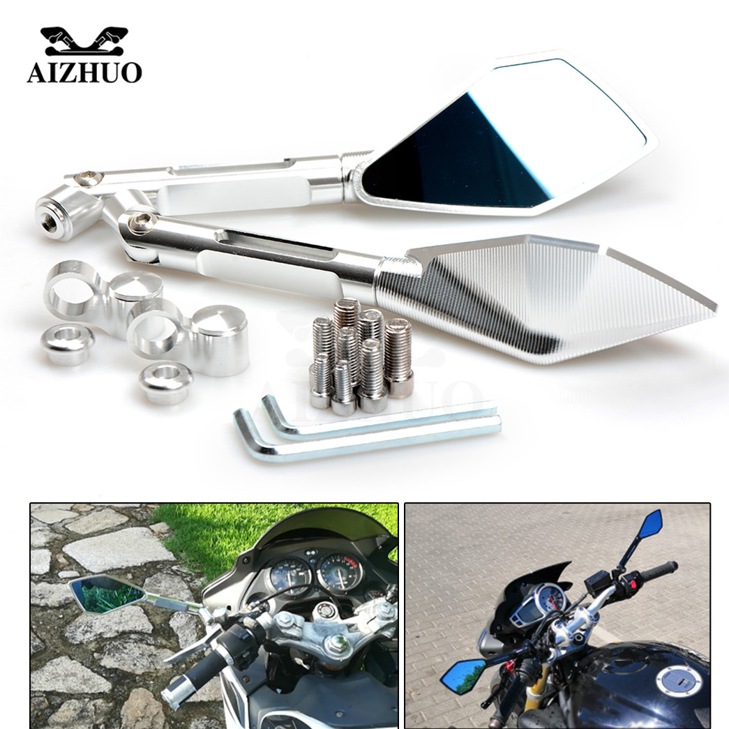 Motorcycle Mirrors Motorbike Scooter Side Rear View Mirror Rearview For YAMAHA XJ6 DIVERSION 2009 2010 2011 2012 2013 2014 2015