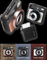 3 Colors Fujifilm Instax SQUARE SQ6 Instant Film Photo Camera + 20 Sheets Square Film Pack instant camera instax mini film