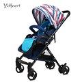 YOLFEERT Alta Vista Bebê Carro Carrinho De Bebê 0-36 M de Luxo Hot Mãe Do Bebê Roda do Carrinho-cadeira Carrinho de Carrinhos de Bebé carrinhos China Cadeirinha de Carro