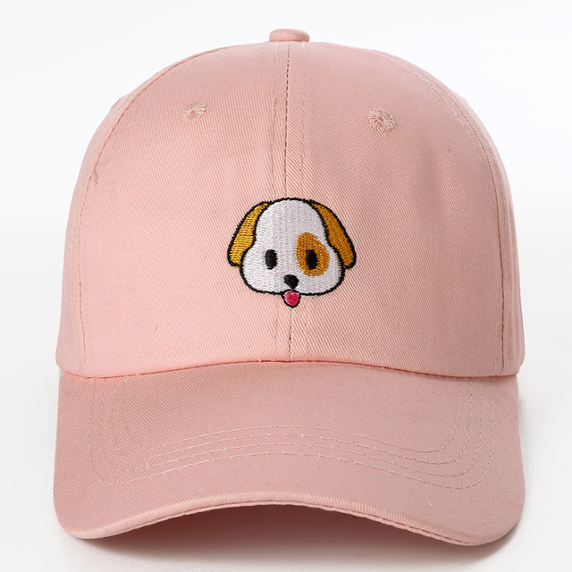 Cute Dog Patterned Baseball Cap