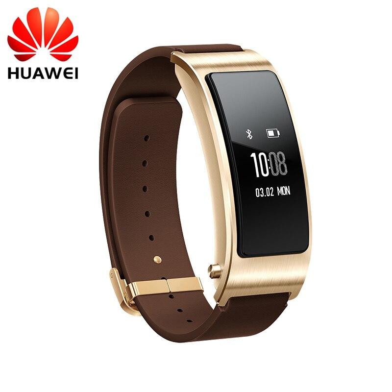Huawei TalkBand B3 Parler Bande B3 Bluetooth Bracelet À Puce de Remise En Forme Portable Sport Compatible Smart Mobile Téléphone Dispositif Bracelets